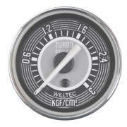 Manômetro Mecânico Pressão de Turbo 0-3kgf/cm² 52mm