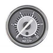 Manômetro Mecânico Pressão do Combustível 0-10kgf/cm²  52mm