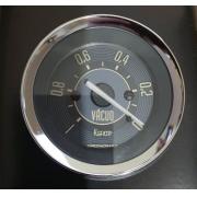 Manômetro Vácuo 52mm CRONOMAC Mecânico VW – Bege 145001vwb