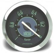 Manômetro Vácuo 52mm CRONOMAC Mecânico VW – Verde
