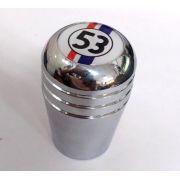 Manopla de cambio alumínio cromada HERBIE 53