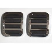 Par capa pedal freio embreagem FUSCA até 1975
