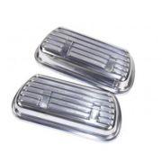 Par de tampa de válvula em aluminio EMPI