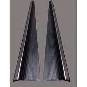 Par Estribos c/ friso fusca 71 até 96 com chapa e capa reforçada