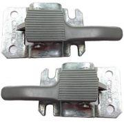 Par gatilho cinza interno da porta fusca 78/96
