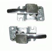 Par gatilho interno da porta fusca 78/96 em metal cromado