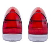 Par lentes EM ACRÍLICO para lanternas traseira FUSCÃO (bicolor)