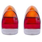 Par lentes EM ACRÍLICO para lanternas traseira FUSCÃO (tricolor)