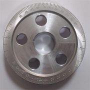 Polia alumínio fusca graduada diametro especial 133MM p/ cárter