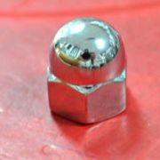 Porca cromada p/ Pé do alternador ou bomba de combustível FUSCA