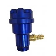 Prolongador de óleo alumínio c/ niple FUSCA (AZUL)