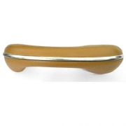 Puxador caramelo c/ friso p/ porta fusca lado direito (passageiro)