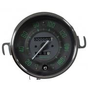 Velocímetro 110mm Mecânico 160kmh VW – Verde – Hodômetro Simples 122515vw