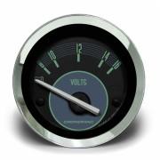 Voltímetro 52mm 12V VW – Verde