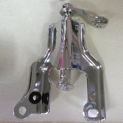 Acionamento cromado original FUSCA 1600 dupla carburação   - SSR Peças & Acessórios ltda ME.