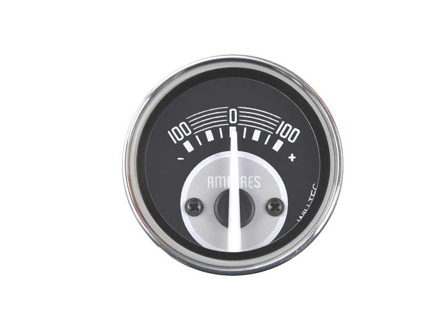 Amperímetro +/- 100A  (52MM)  - SSR Peças & Acessórios ltda ME.