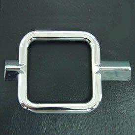Aro cromado em plástico p/ relógio combustível FUSCA até 70   - SSR Peças & Acessórios ltda ME.