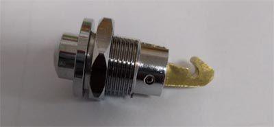 Botão cromado do porta luvas Fusca do ano até 1970   - SSR Peças & Acessórios ltda ME.