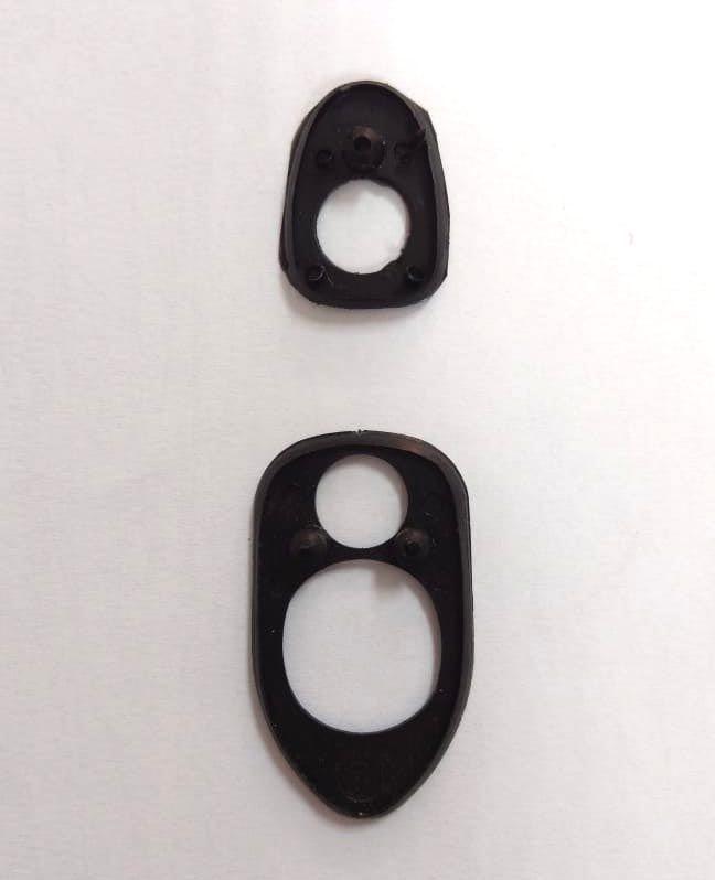 Calços maçaneta puxador do capo dianteiro fusca 71/96  - SSR Peças & Acessórios ltda ME.