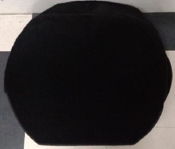 Capa  estepe carpete preto  - SSR Peças & Acessórios ltda ME.