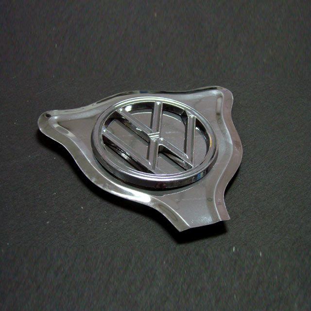 Cara de GATO INOX (decorador p/ capô) c/ emblema vw (plástico)  - SSR Peças & Acessórios ltda ME.