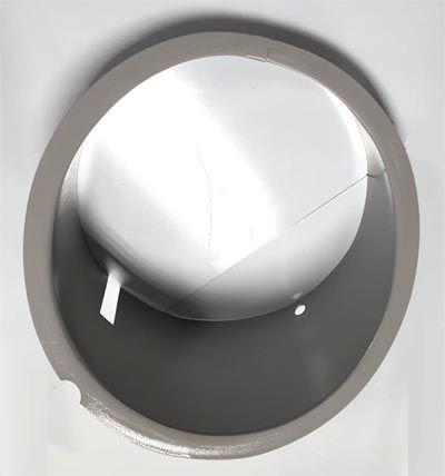 Carcaça farol fusca até 1963 até 1972 olho de boi   - SSR Peças & Acessórios ltda ME.