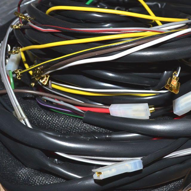 Chicote completo p/ FUSCA 1600 ALTERNADOR / 12 fusíveis   - SSR Peças & Acessórios ltda ME.