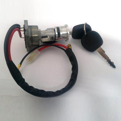 Cilindro ignição c/ chave Fusca 67/77 + comutador e excêntrico   - SSR Peças & Acessórios ltda ME.