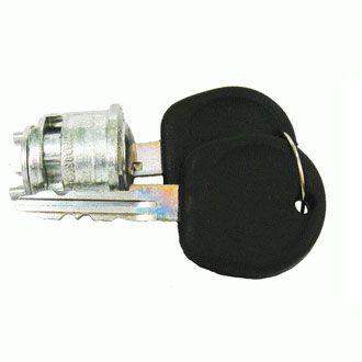 Cilindro Ignição c/ Chave - FUSCA 67>Kombi / Variant / TL até 77   - SSR Peças & Acessórios ltda ME.