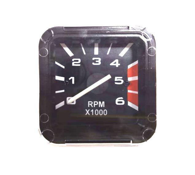 Conta GIROS 6000 RPM para instalação no lugar do relógio de horas do FUSCA ITAMAR 93/96  - SSR Peças & Acessórios ltda ME.
