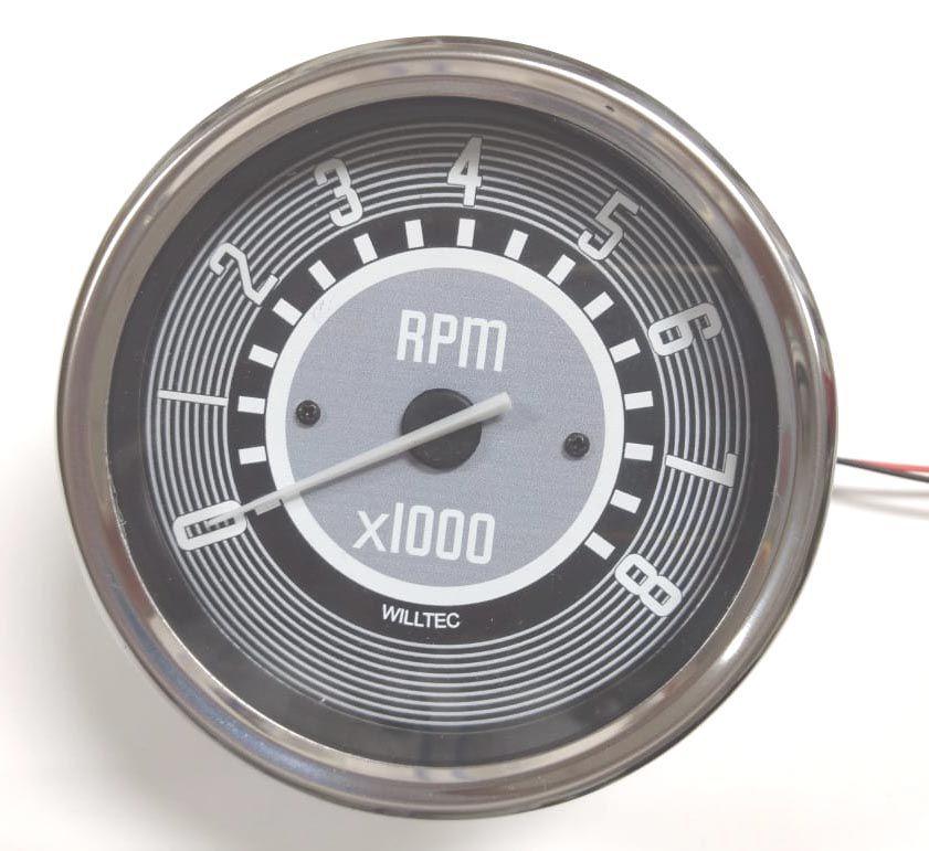 Contagiro 0-8000 RPM bivolt (c/ajuste de marcha lenta) 110mm  - SSR Peças & Acessórios ltda ME.