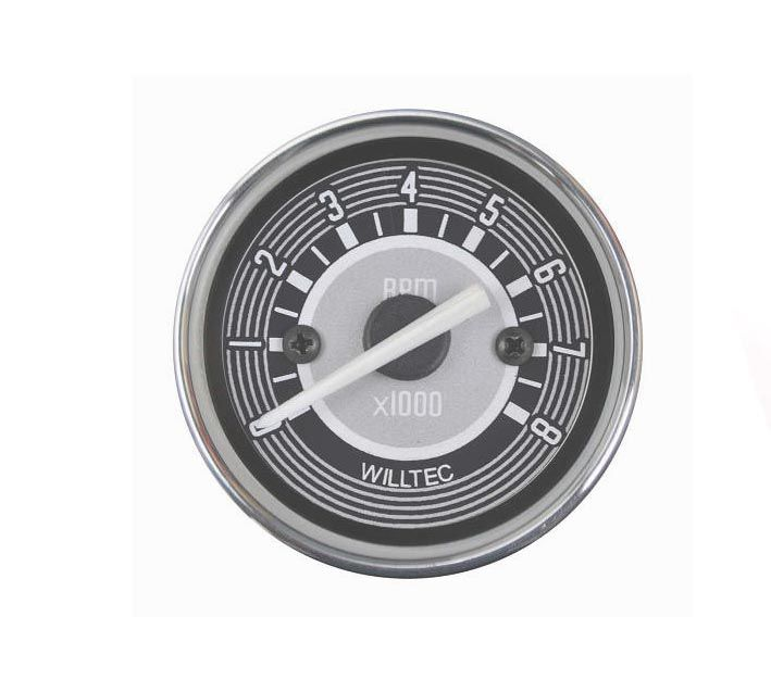 Contagiro 0-8000 RPM bivolt (c/ajuste de marcha lenta) 52mm  - SSR Peças & Acessórios ltda ME.