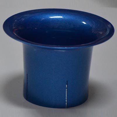 Corneta Azul em alumínio para carburador FUSCA  - SSR Peças & Acessórios ltda ME.