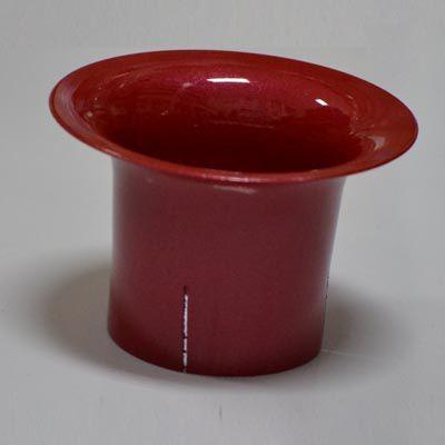 Corneta vermelha em alumínio para carburador solex 30/32  - SSR Peças & Acessórios ltda ME.