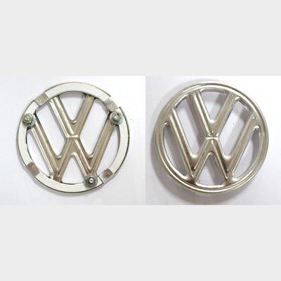 Emblema FUSCA  VW capô aluminio   - SSR Peças & Acessórios ltda ME.