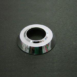 Espelho UNITÁRIO roseta alumínio cromada para manivela/maçaneta   - SSR Peças & Acessórios ltda ME.