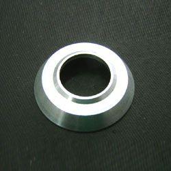 Espelho UNITÁRIO s/ cromo roseta alumínio para manivela/maçaneta   - SSR Peças & Acessórios ltda ME.