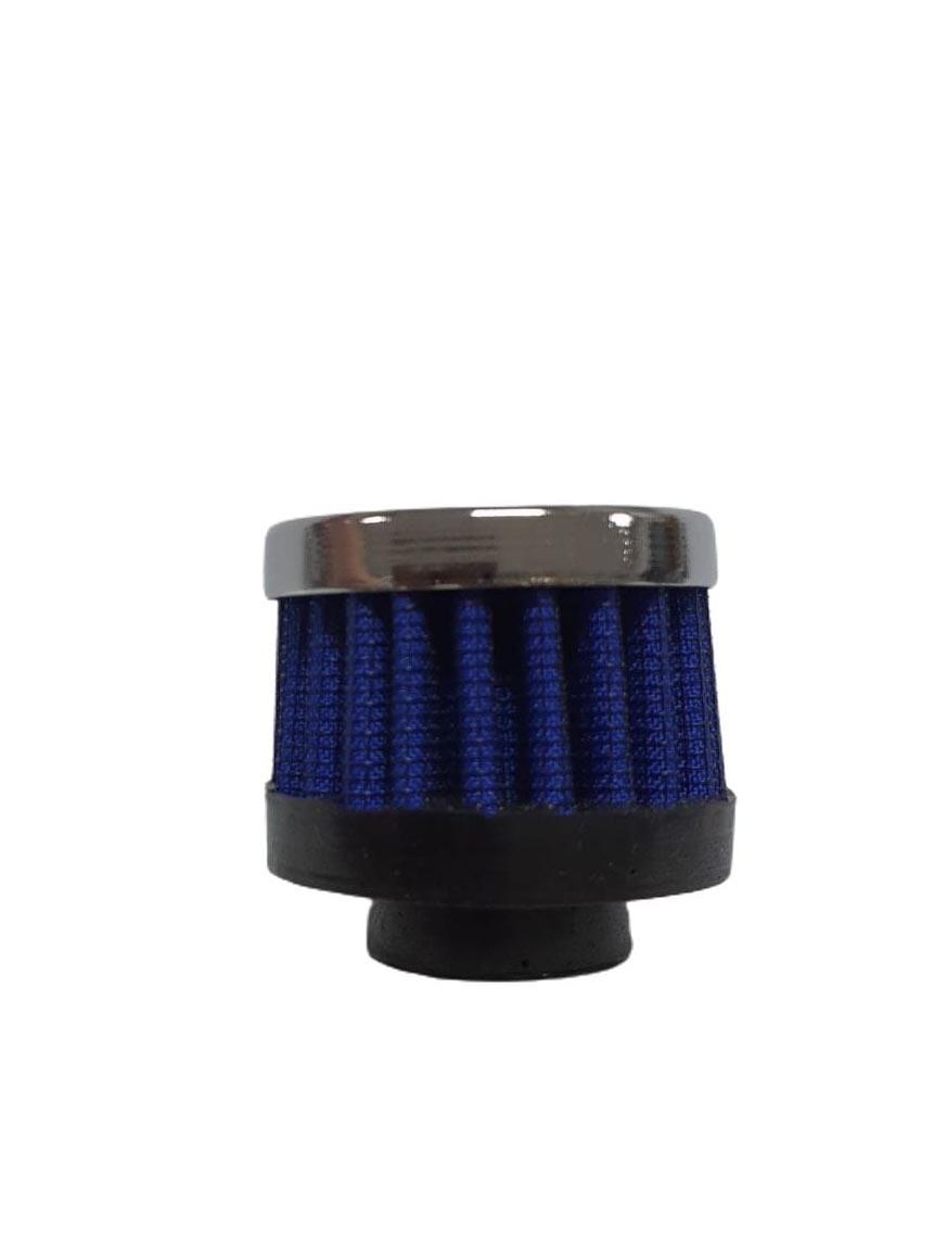 Filtro azul para respiro de óleo   - SSR Peças & Acessórios ltda ME.