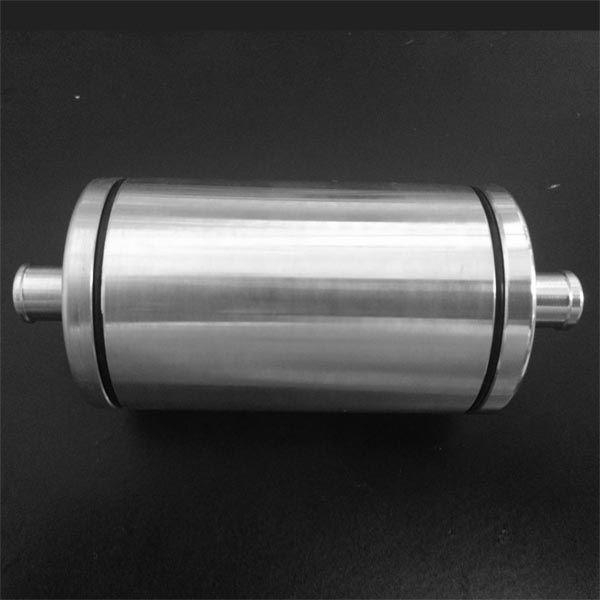 Filtro combustível alumínio c/ elemento lavável  - SSR Peças & Acessórios ltda ME.