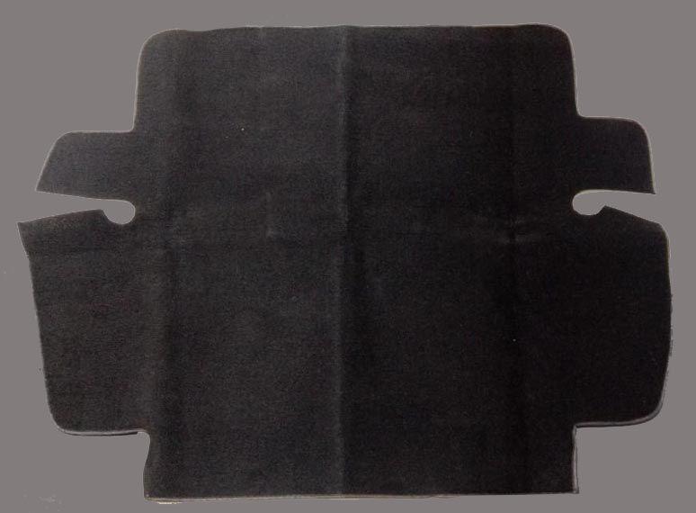 Forração capo dianteiro carpete preto fusca 67/84*   - SSR Peças & Acessórios ltda ME.