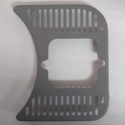 Grade painel lado direito furo original fusca até 70   - SSR Peças & Acessórios ltda ME.