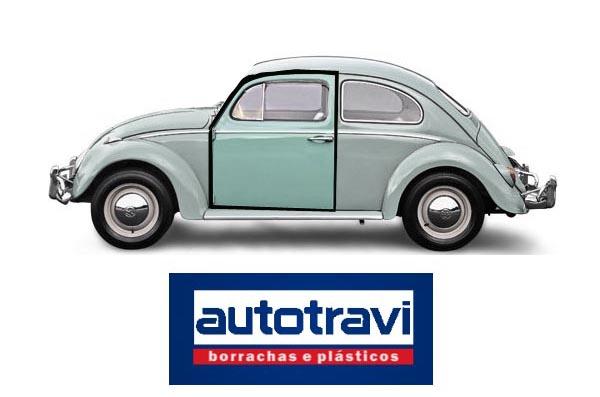 Guarnição porta VW FUSCA 52/77 AUTOTRAVI (PREMIUM)  - SSR Peças & Acessórios ltda ME.