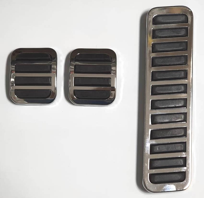 Jg capa pedal freio embreagem acelerador fusca até 75  - SSR Peças & Acessórios ltda ME.