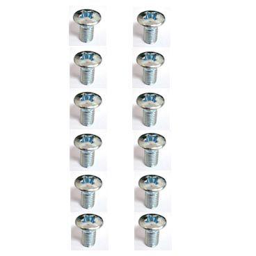 Jogo c/ 12 parafusos para dobradiça da porta do FUSCA   - SSR Peças & Acessórios ltda ME.