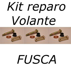 Kit reparo volante FUSCA molas buchas e parafusos   - SSR Peças & Acessórios ltda ME.