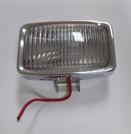 Lanterna auxiliar luz de ré metal cromado  - SSR Peças & Acessórios ltda ME.