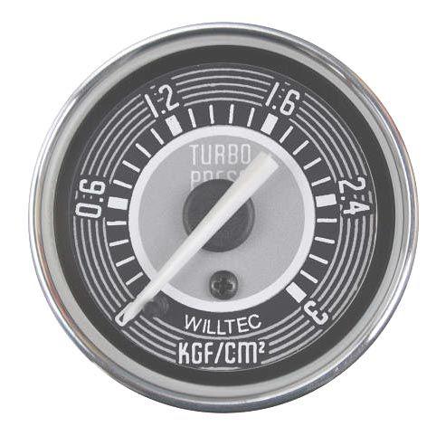 Manômetro Mecânico Pressão de Turbo 0-3kgf/cm² 52mm  - SSR Peças & Acessórios ltda ME.