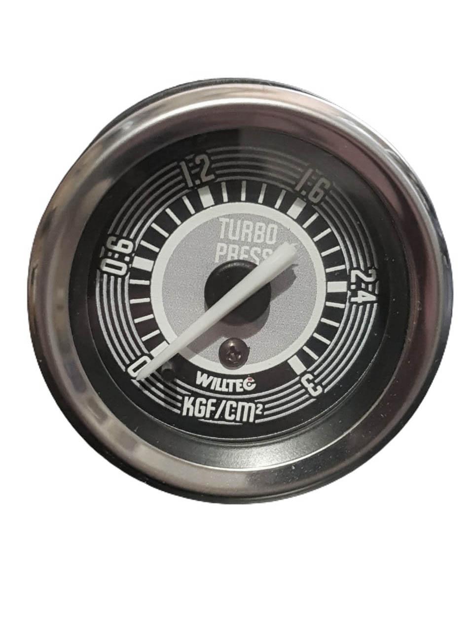 Manômetro Mecânico Pressão de Turbo 0-3kgf/cm² 52mm W04 632c  - SSR Peças & Acessórios ltda ME.