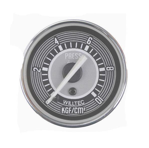 Manômetro Mecânico Pressão do Óleo 0-10kgf/cm² 52mm  - SSR Peças & Acessórios ltda ME.