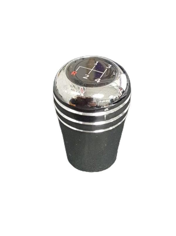 Manopla alumínio cromada c/ logo 4 marchas   - SSR Peças & Acessórios ltda ME.